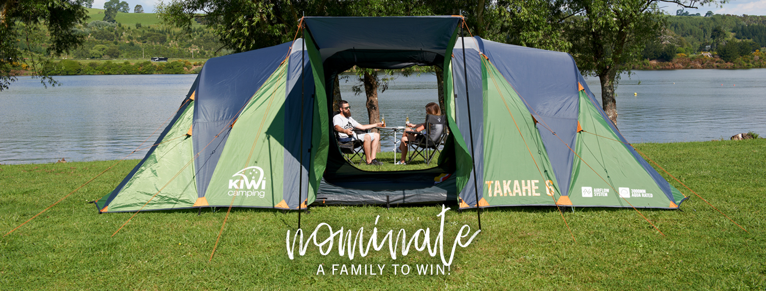Nominate a Family to win a Takahe 6 Prize Pack!