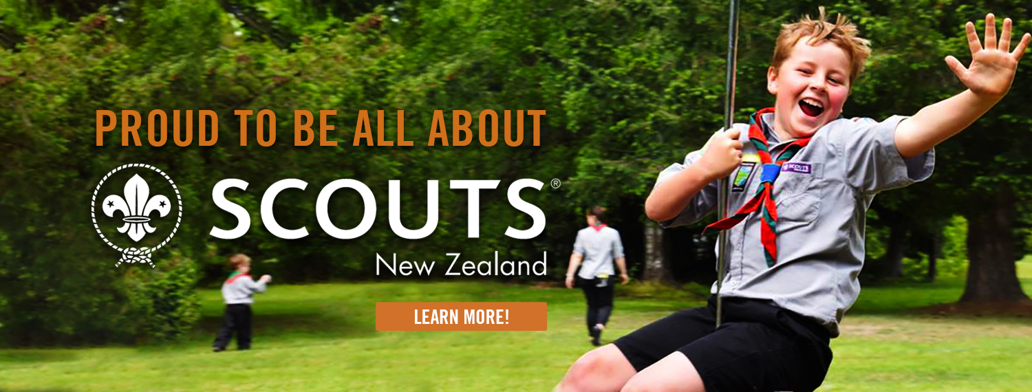 Proud to be Scouts NZ Community Partner!