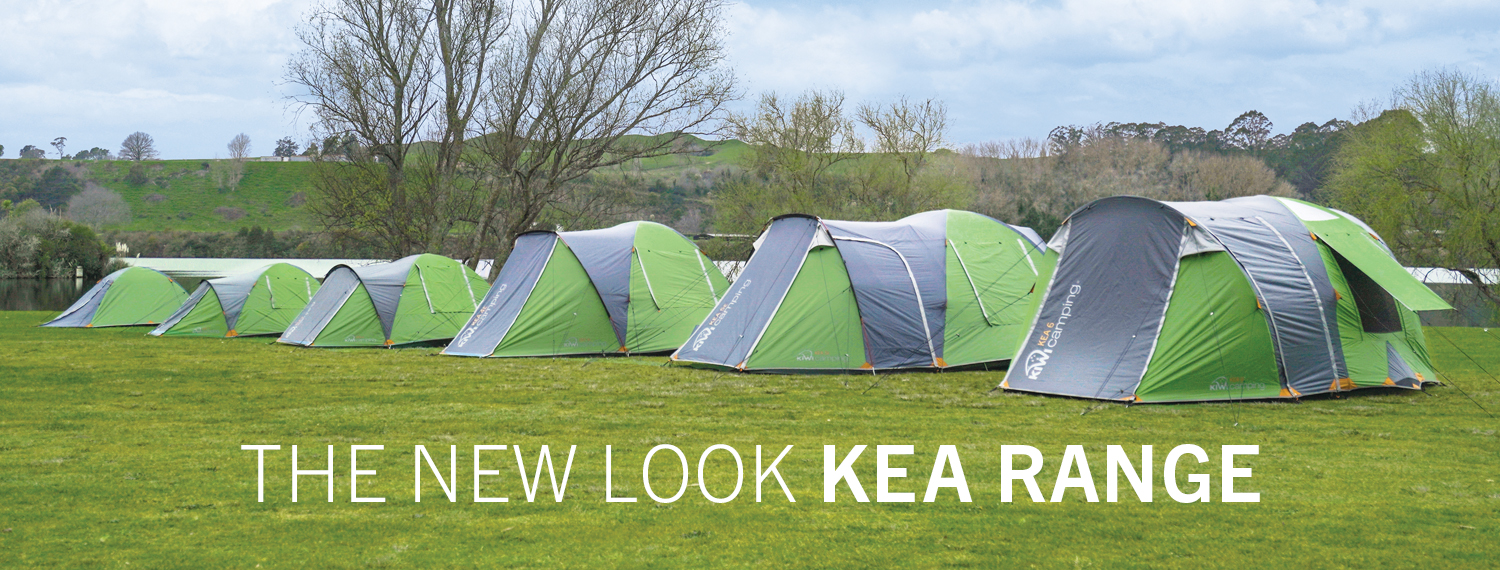 The New Look Kea Recreational Tent Range