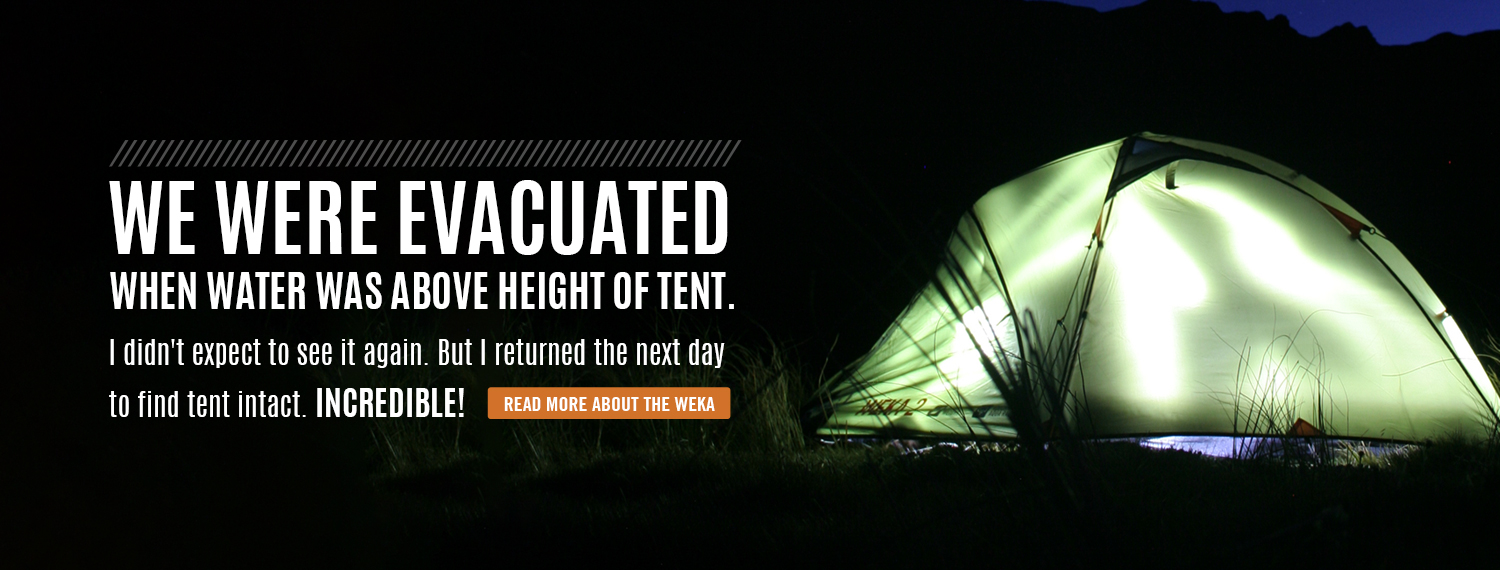 The tent that survives a 1 in 100 year flood!