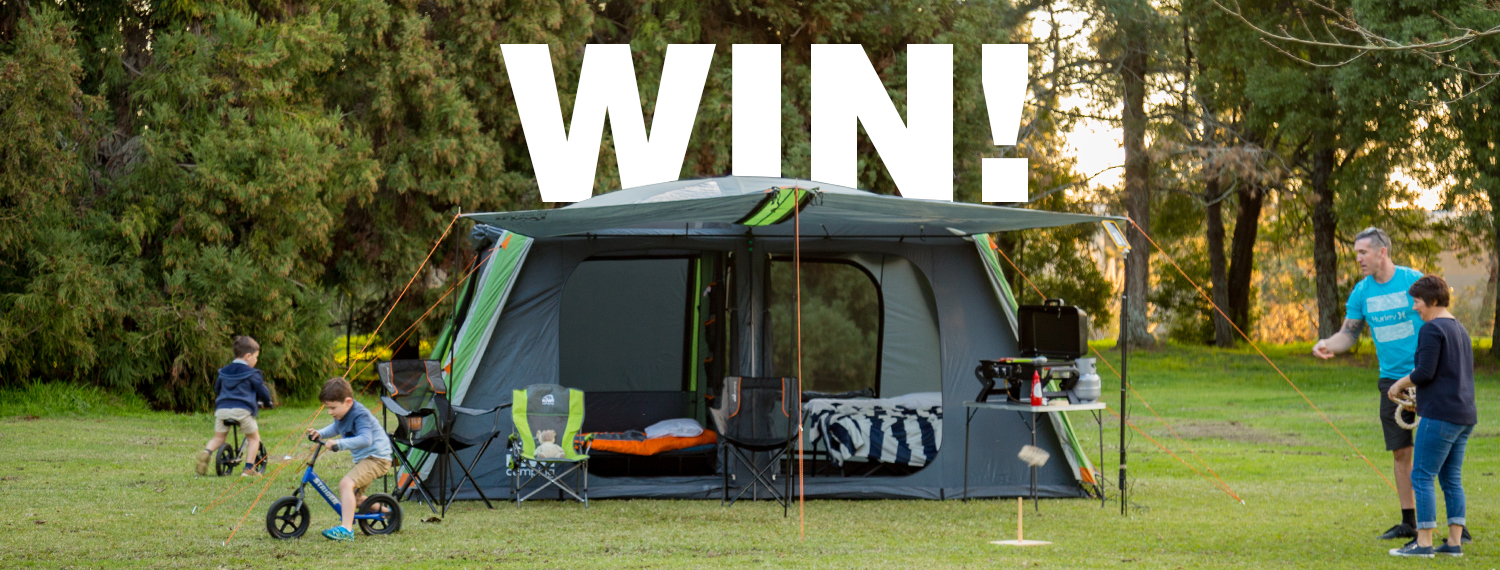 Nominate a deserving family to win a Kiwi Camping Prize Pack!