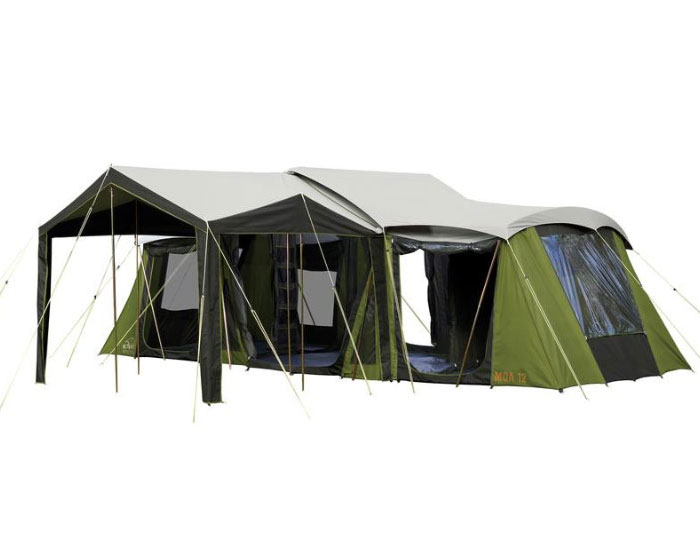 Moa 12 Canvas Tent  sc 1 st  Kiwi C&ing & Canvas Family Tents Luxury Tents For Sale | Kiwi Camping NZ