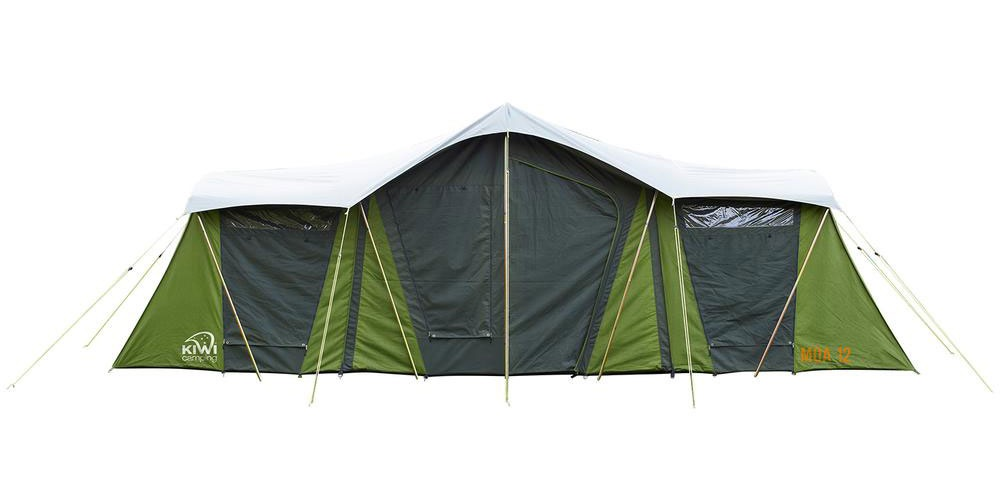 Moa 12 Canvas Tent Back View