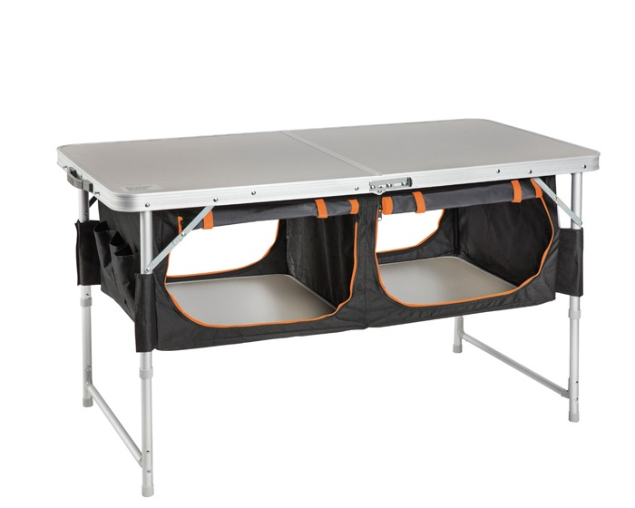 Bi-Fold Table with Pantry