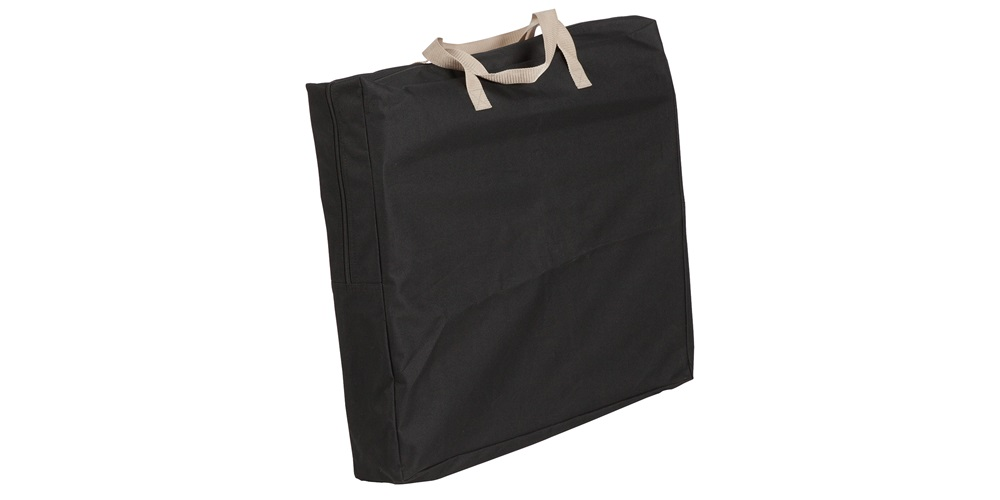 Folds down into carry bag with handle.