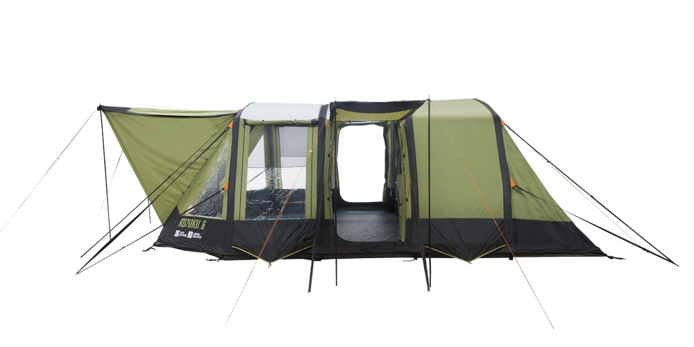 Inflatable Dome Tent | Kotuku 6 By Kiwi Camping NZ