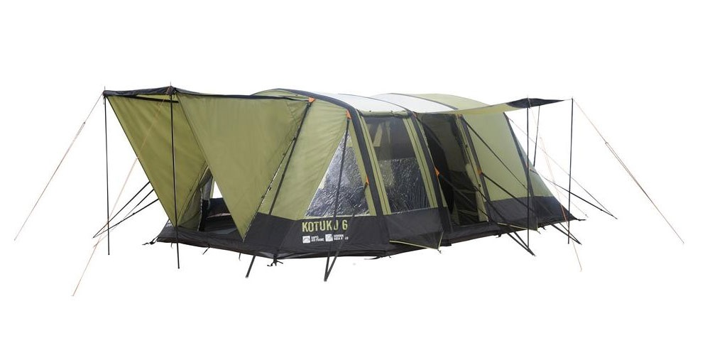 Kotuku 6 Inflatable Dome Tent ...  sc 1 st  Kiwi C&ing & Inflatable Dome Tent | Kotuku 6 By Kiwi Camping NZ