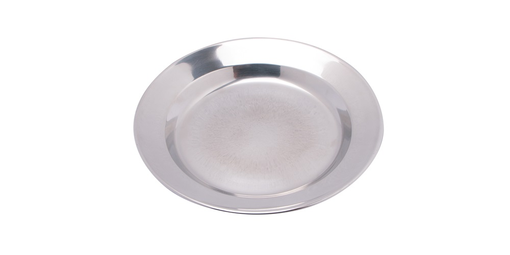 24cm Stainless Steel Plate