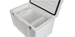 109L Chillzone Ice Box inside - basket and divider bottles available separtely