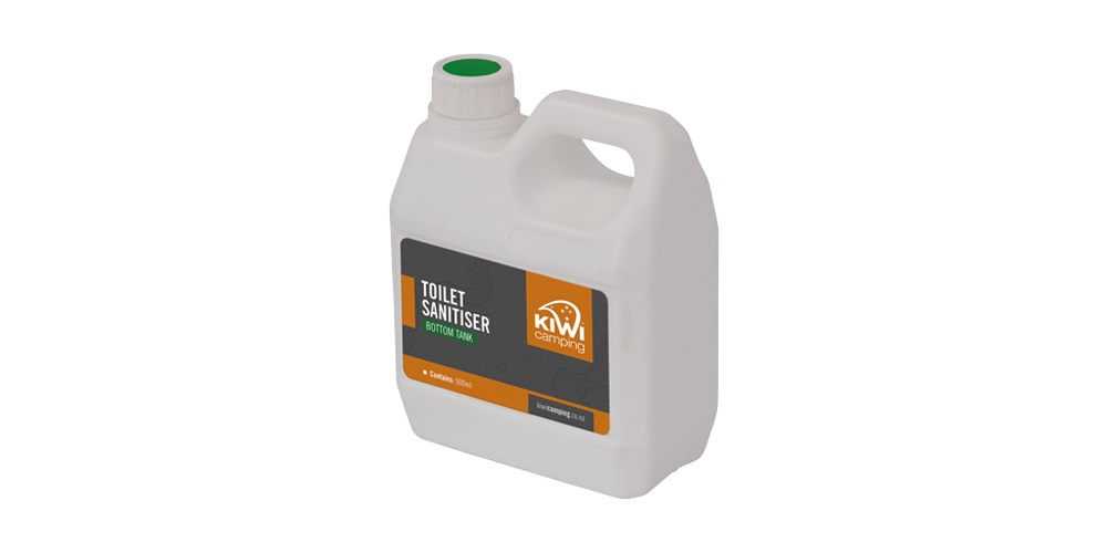 Bottom Tank Toilet Chemicals Kiwi Camping Nz