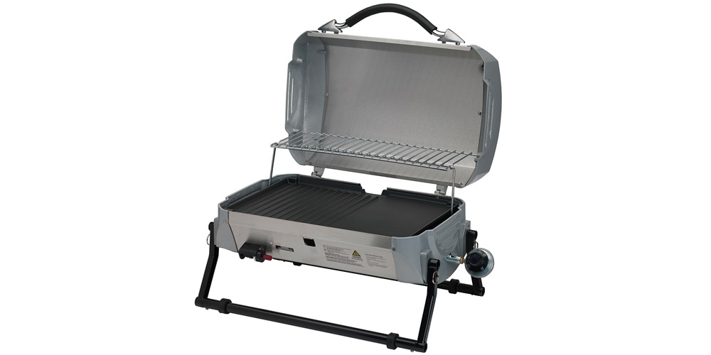 Gasmate Cruiser Stainless Steel Portable BBQ