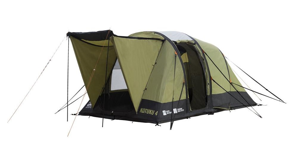 Kotuku 4 Inflatable Dome Tent ...  sc 1 st  Kiwi C&ing & 4 Person Inflatable Dome Tent | Kotuku 4 By Kiwi Camping NZ