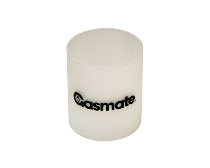 Gasmate Frosted Lantern Glass