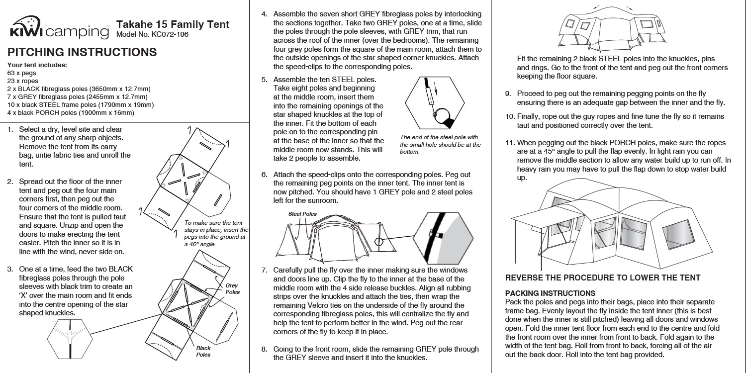 cd319d67c6ee Large Family Dome Tent