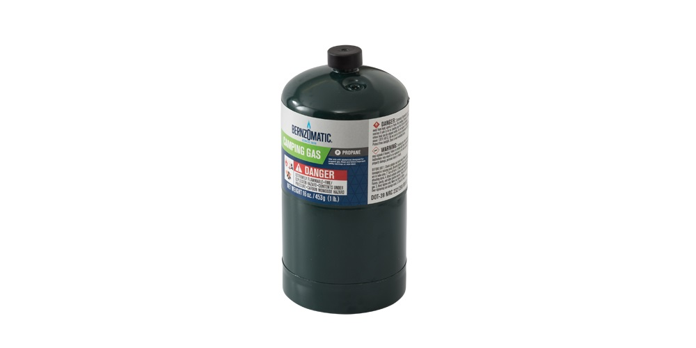 Bernzomatic 465gm Propane Canister Left View