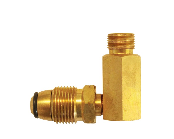 Gasmate POL to Companion 90° Adaptor