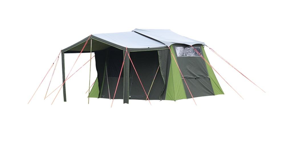 Tent fly for kakapo 5 canvas tent kiwi camping nz for Canvas tent fly