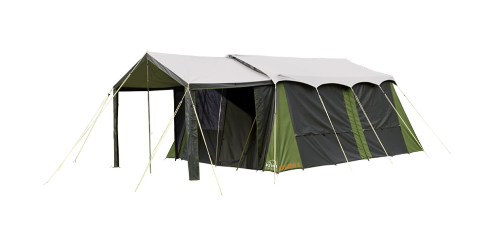 Kakapo 8 Canvas Tent Fly Kiwi Camping Nz