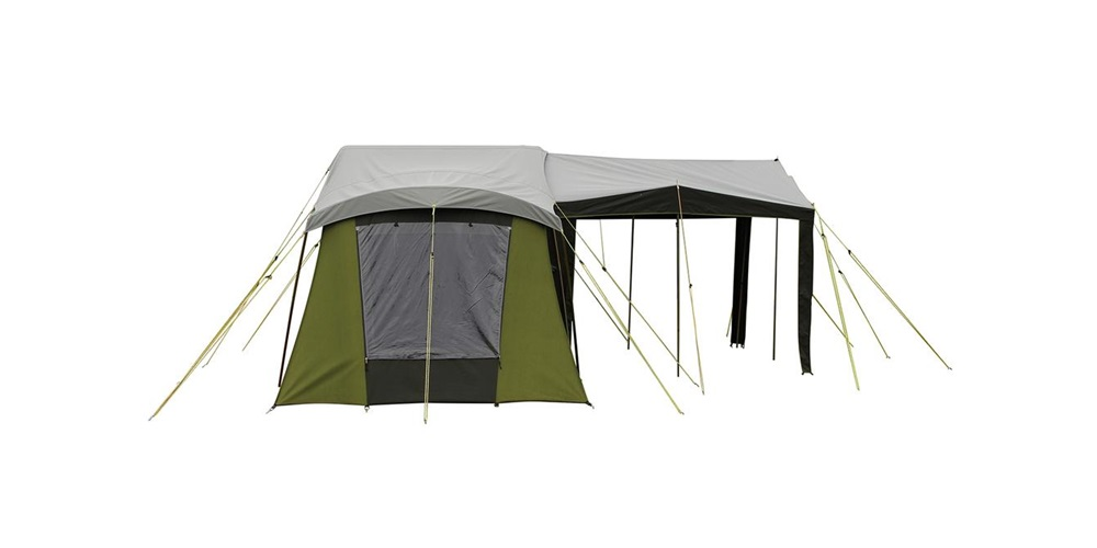 Moa 10 canvas tent side view