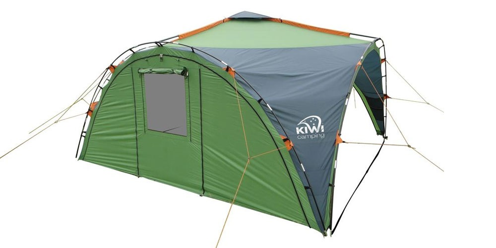 Savanna 4 Curtain With Window Amp Door Kiwi Camping Nz
