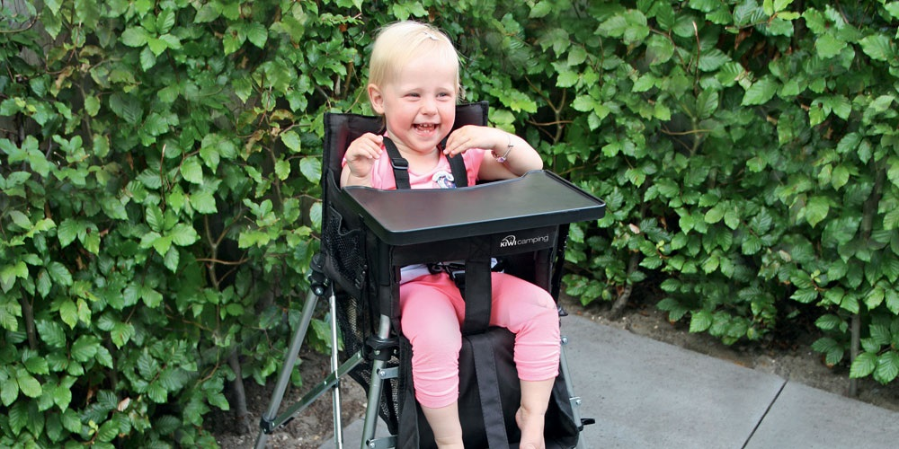 Tiny Tot Portable High Chair with Dining Tray
