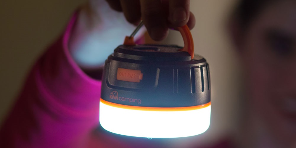 LED Lantern with Power Bank