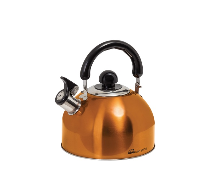2.5L Deluxe Whistling Kettle - Amber