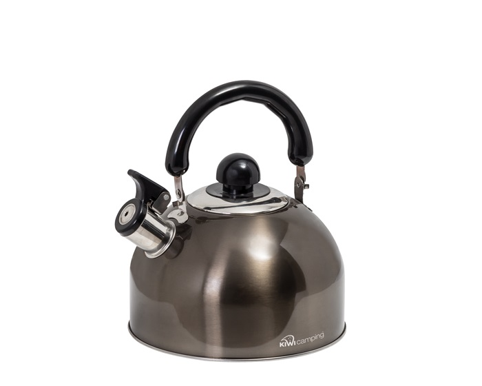2.5L Deluxe Whistling Kettle - Graphite