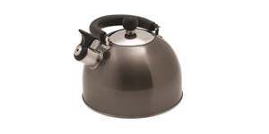 Deluxe Whistling Kettle - Handle down