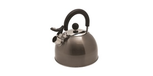Deluxe Whistling Kettle Spout Open