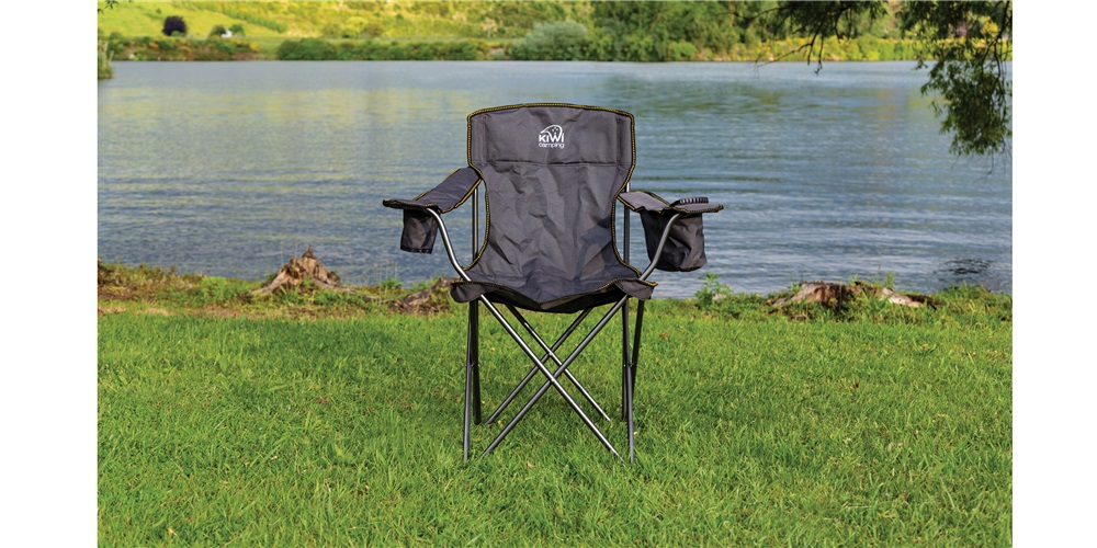 Kiwi Camping Choice Chair at Horahora, Waikato