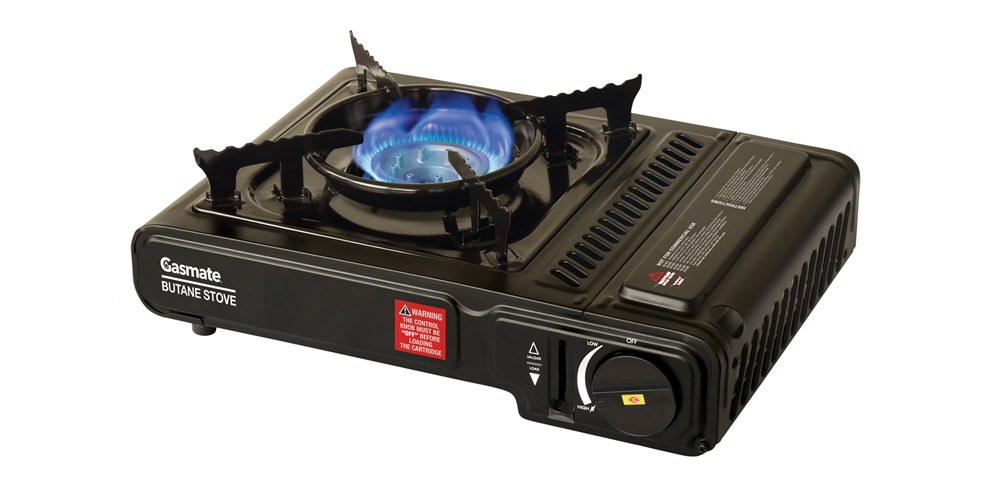Gasmate Butane Stove in Black