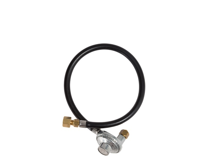 Gasmate 2.0kg 90º Camping LPG Regulator with 600mm Hose