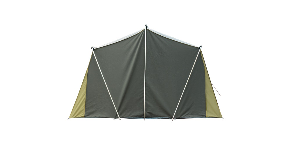 Kakapo 10 Canvas Tent Back View