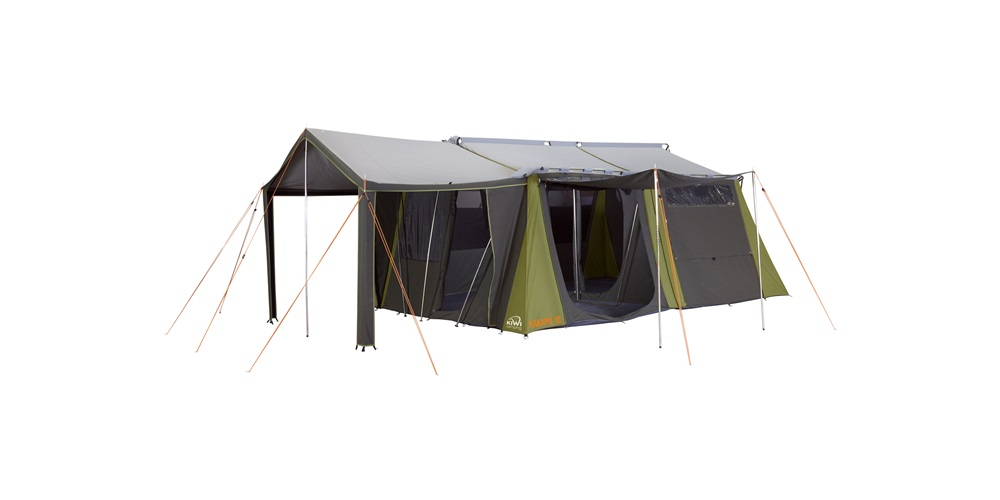 Kakapo 10 Canvas Tent