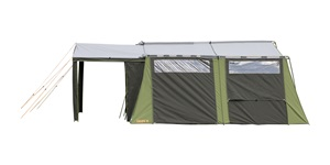 Kakapo 10 Canvas Tent Side View