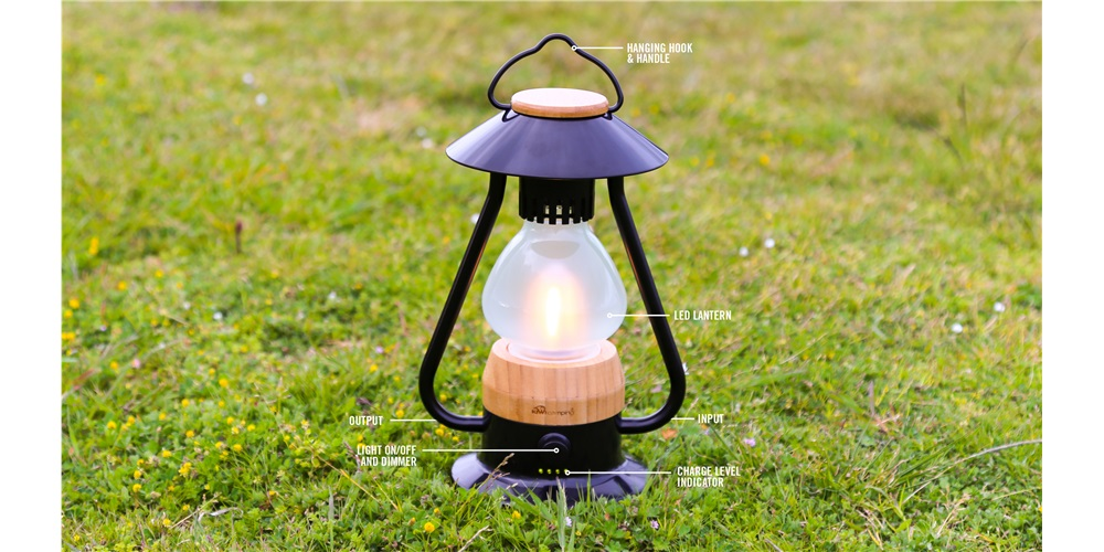 5 Elements Lantern with Power Bank