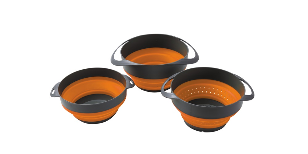 Collapsible Bowl and Colander set