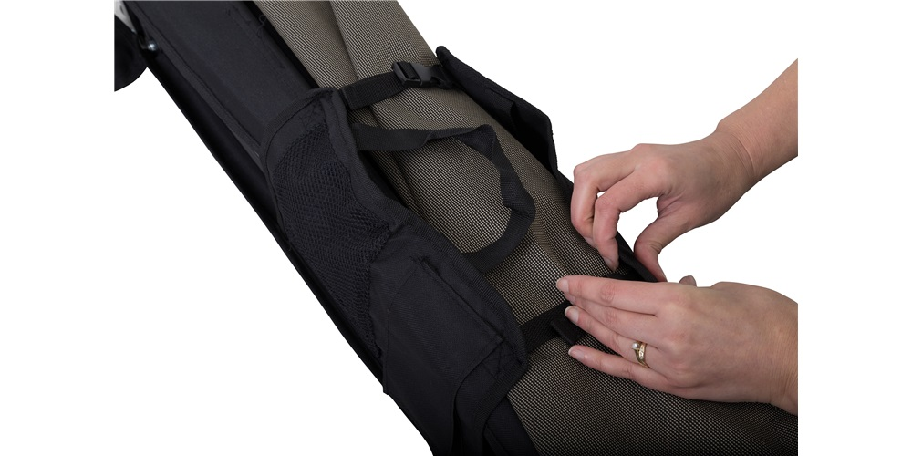 Jumbo Easy Fold Stretcher - Unbuckle
