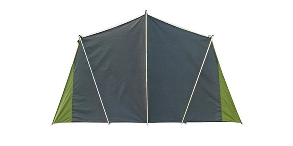 Kakapo 8 Canvas Tent Back View