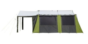 Kakapo 8 Canvas Tent Side View