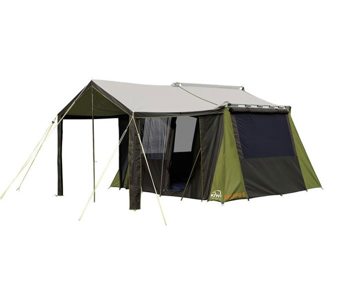 Large Family Canvas Tent | Moa 12 From Kiwi Camping NZ