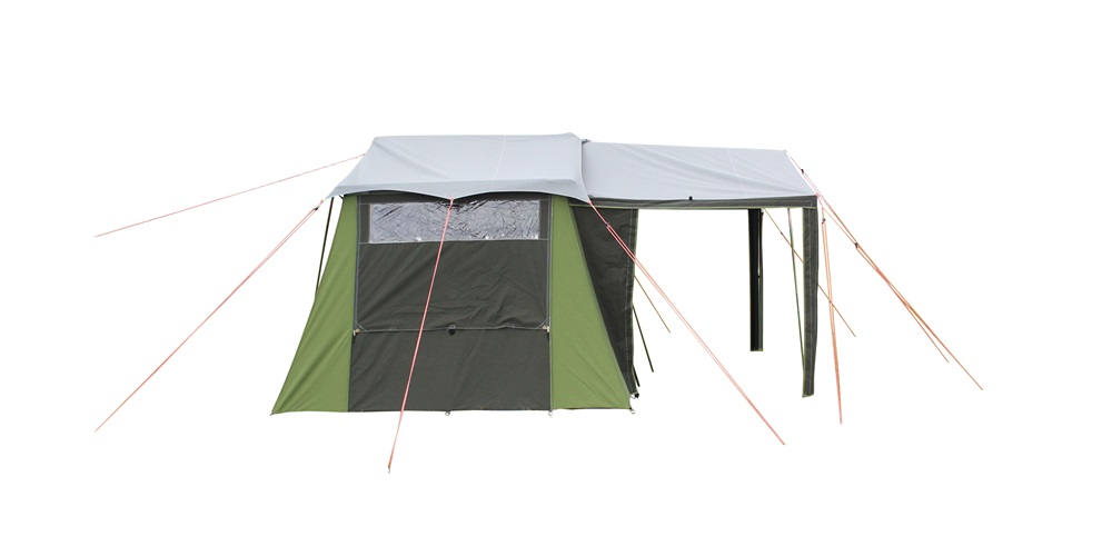 Kakapo 5 Canvas Tent Side  View