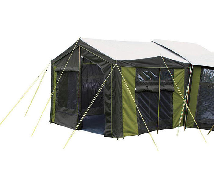 Large Family Canvas Tent Moa 12 From Kiwi Camping Nz