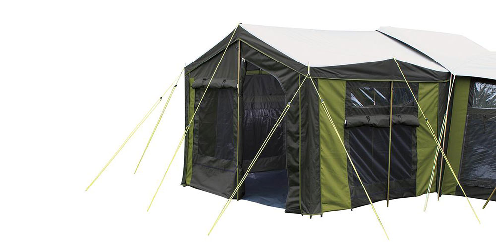 Moa 12 Canvas Tent Sunroom
