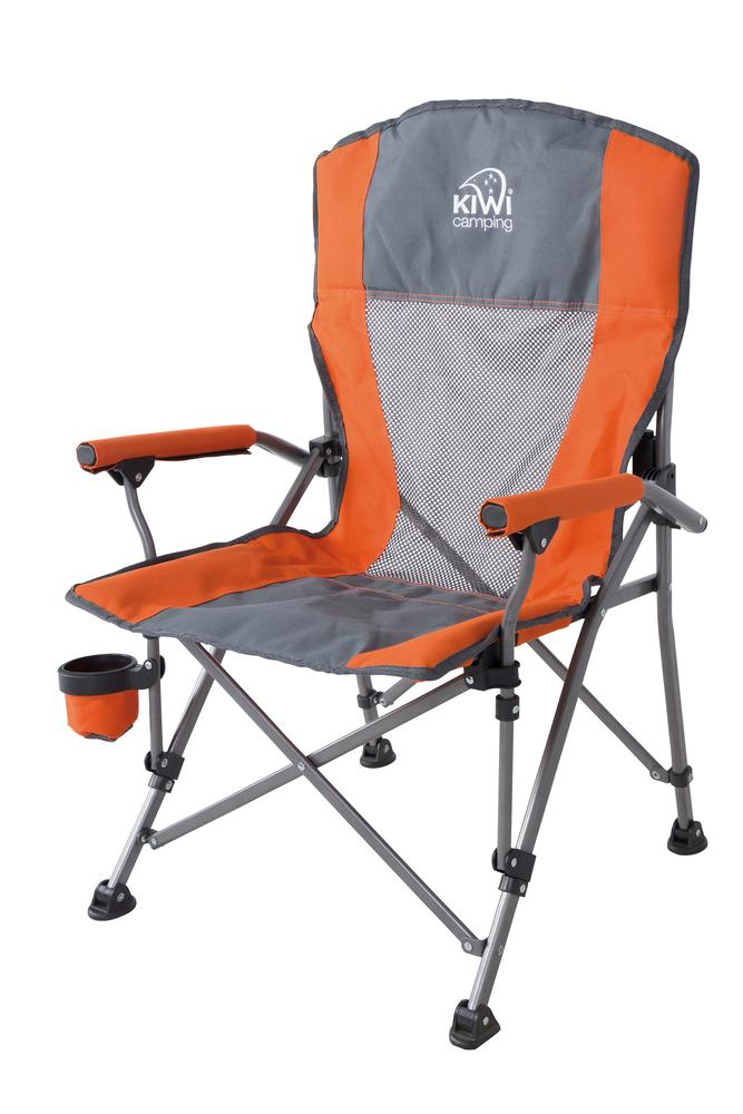 Kids Camping Chair In Orange Kiwi Camping Nz