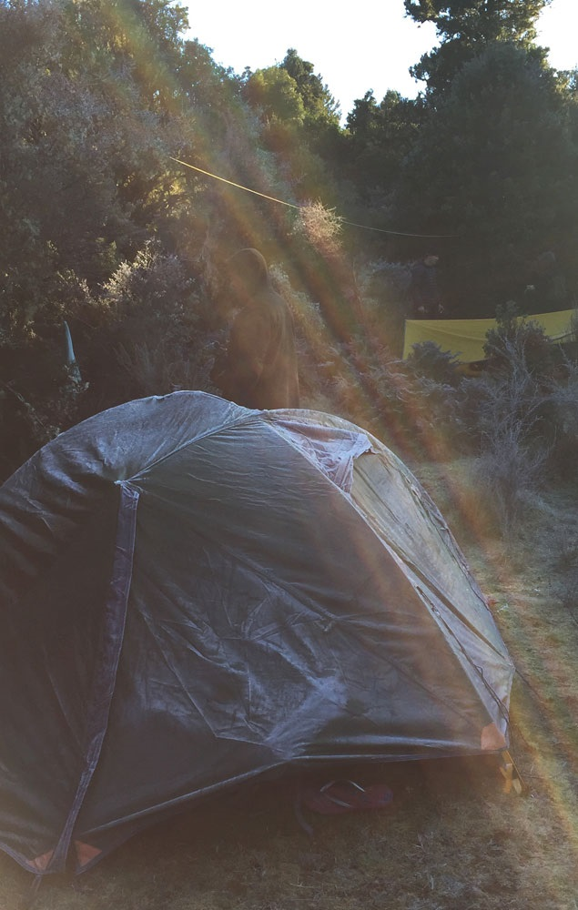 Smaller tents are quick to put up, and fast to heat. Make sure your tent can deal with the weather you're expecting - and then some!