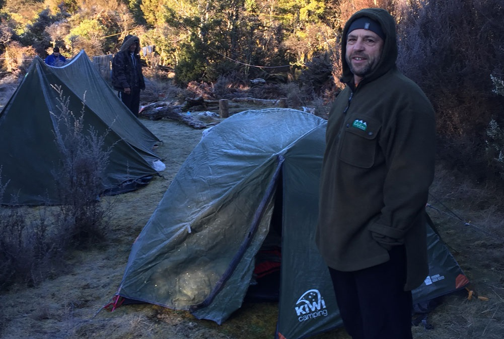 Extreme weather testing our Hiker tents