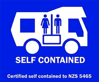 If your vehicle is Self-Contained (see article for definition), then you're ok to stay!